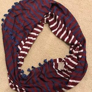 J Crew silk infinity scarf